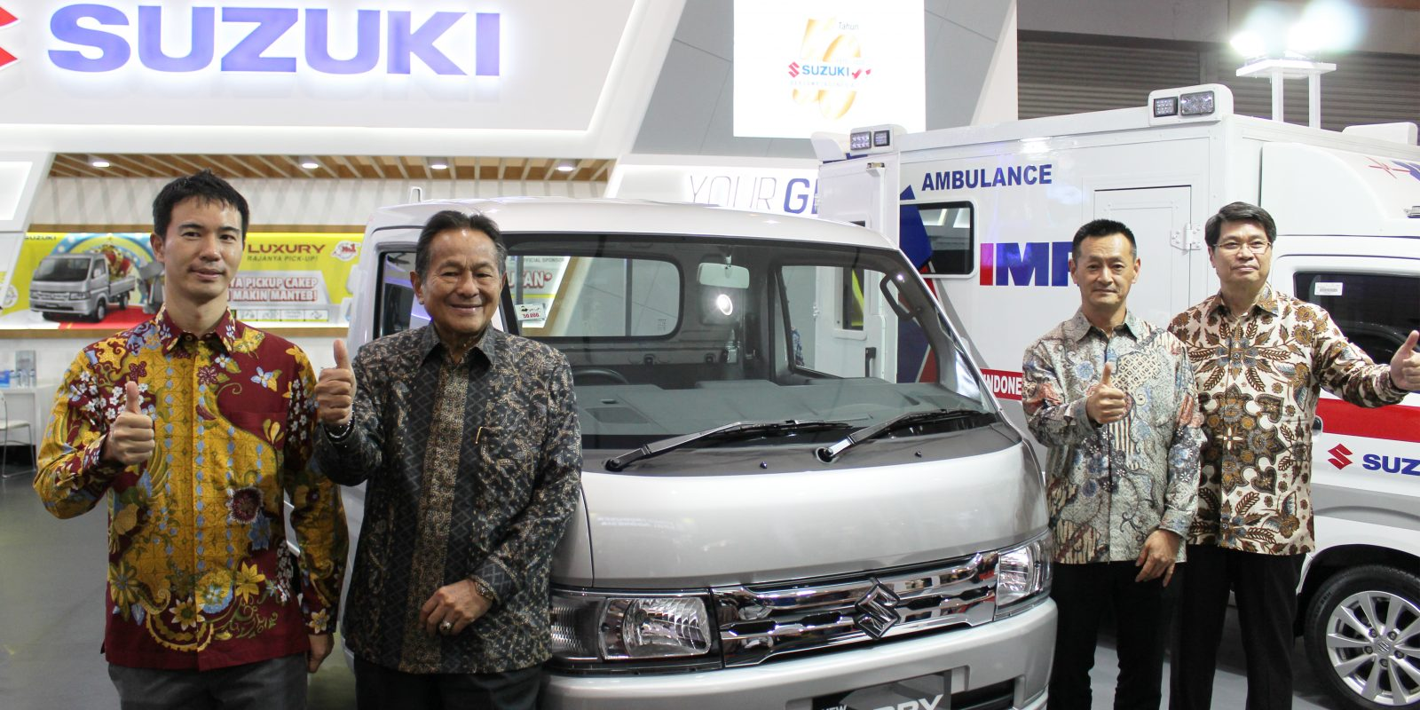 Suzuki Luncurkan New Carry Luxury Varian Tertinggi Rajanya Pick Up