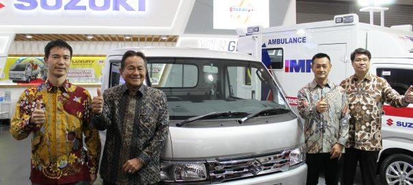 Suzuki Luncurkan New Carry Luxury Varian Tertinggi Rajanya Pick Up