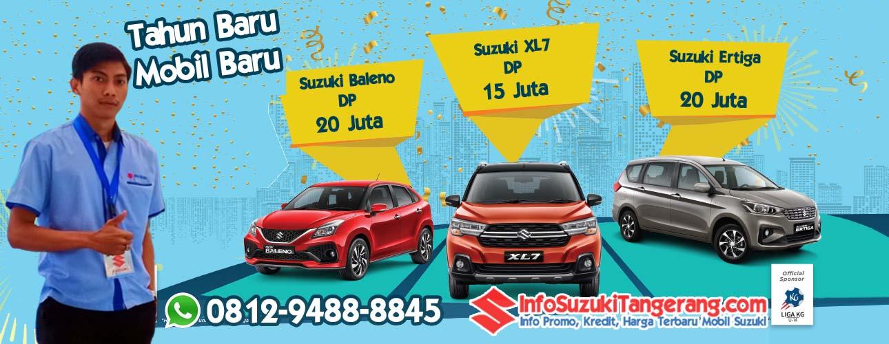 Promo Kredit Mobil Baru Suzuki DP Murah